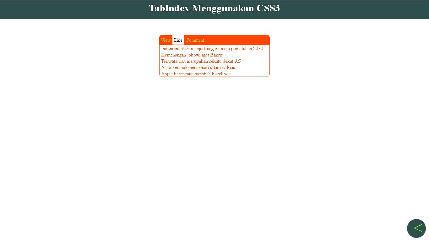 css,css3,tabinde,tutorial,tips,pemrograman,html
