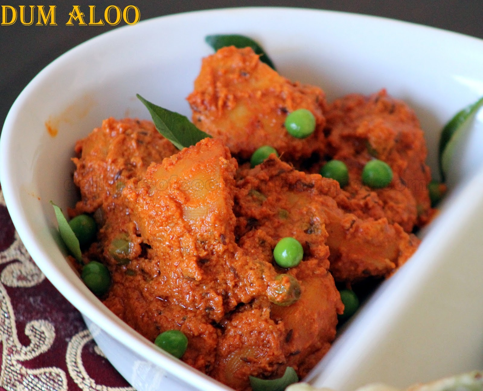 dum aloo recipe use small baby potatoes as far as possible for this ...