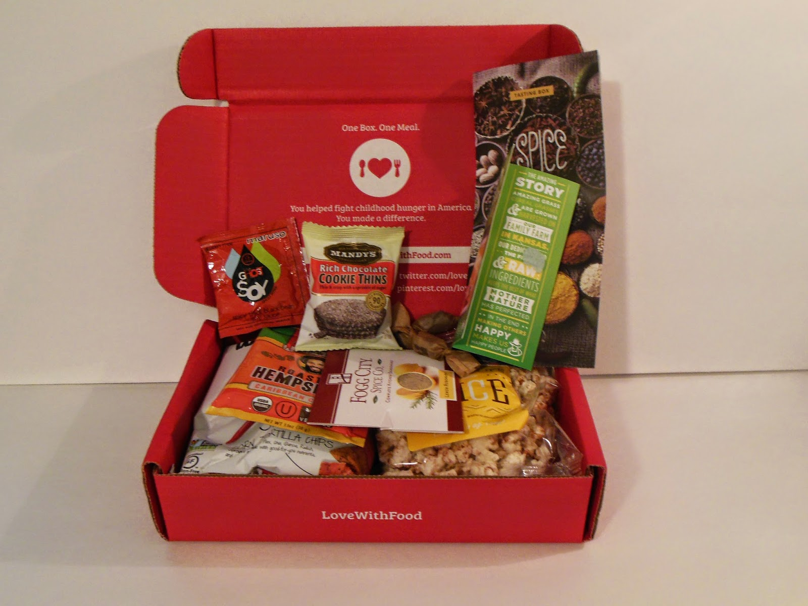 September Love With Food box
