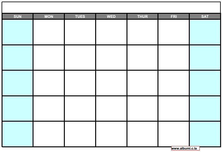 Blank Calendar Printables : All calendar for print calendars kalendar