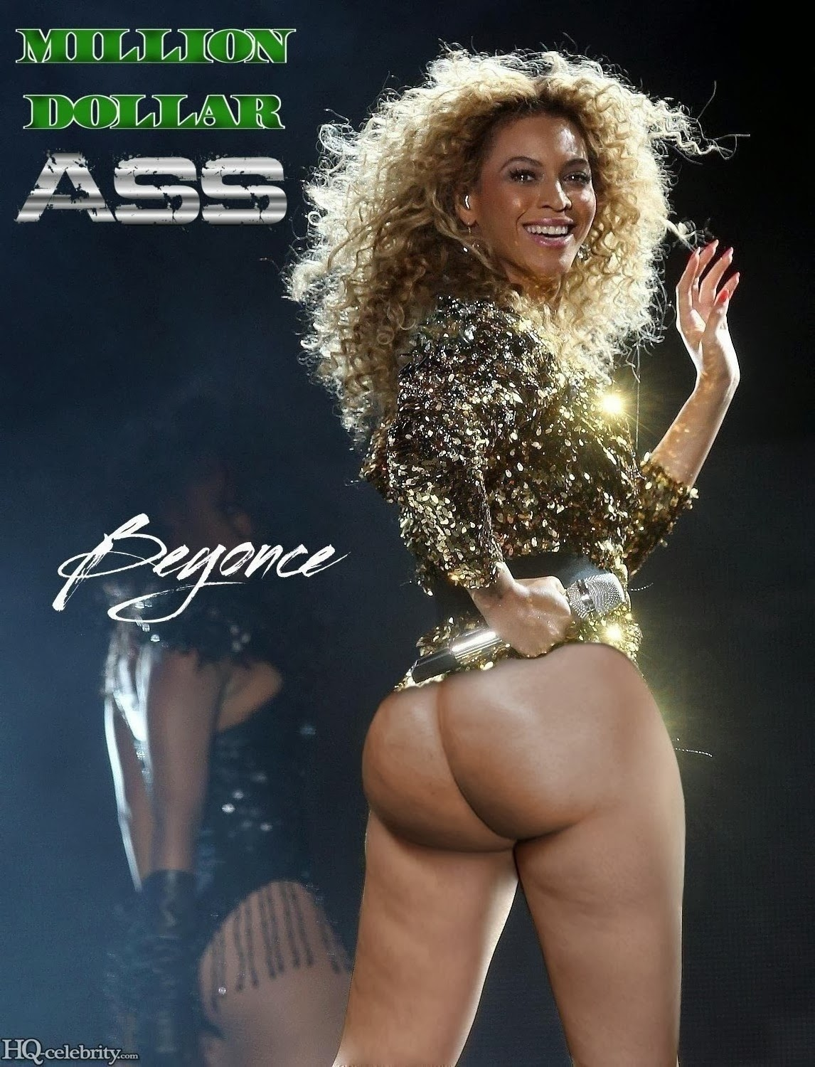 beyonces pussy butt naked
