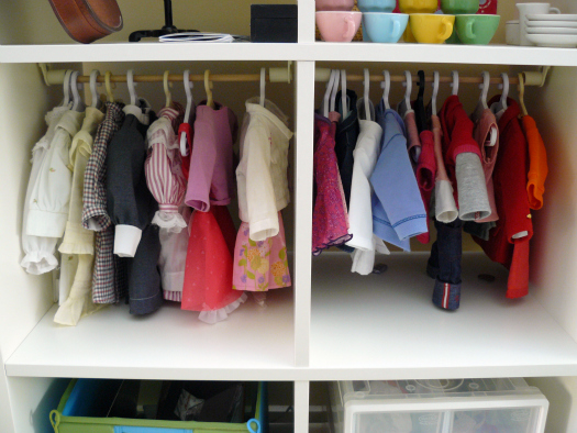 Ordinaire Awww, Could This Project Be Any Sweeter? What Little Gal Wouldnu0027t Be Beyond  Smitten With A Setup Like This? I Get Asked About Storing Doll Clothes All  The ...