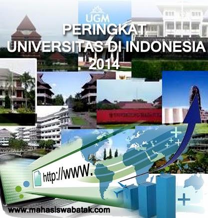 Peringkat Universitas Di Indonesia Tahun 2014 Versi 4icu