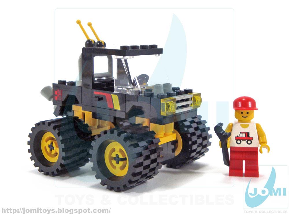 lego monster truck instructions 60146