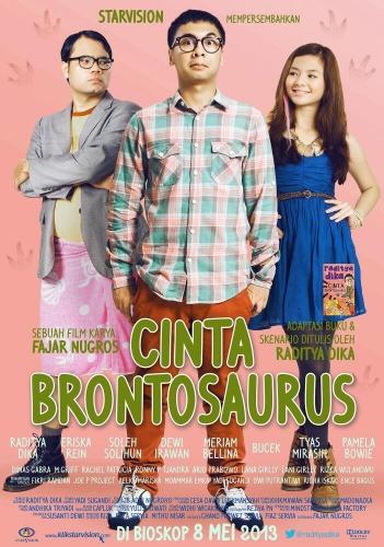Film Cinta Brontosaurus di Bioskop