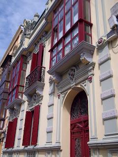 Casa estilo art noveau - Art noveau style building