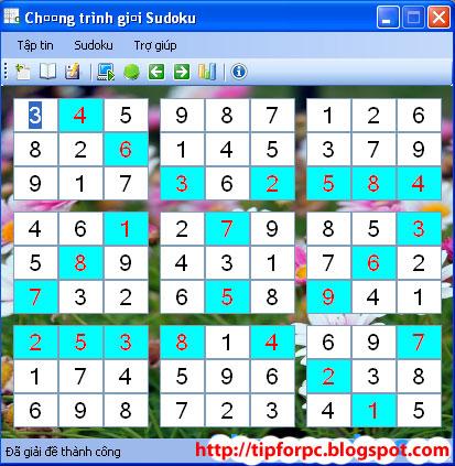 Source C# Mã nguồn Phần Mềm Game Sudoku