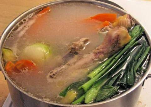 Cách nấu Bouillon De Poulet - Nước dùng gà