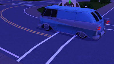 The sims 3 late night celebrity car