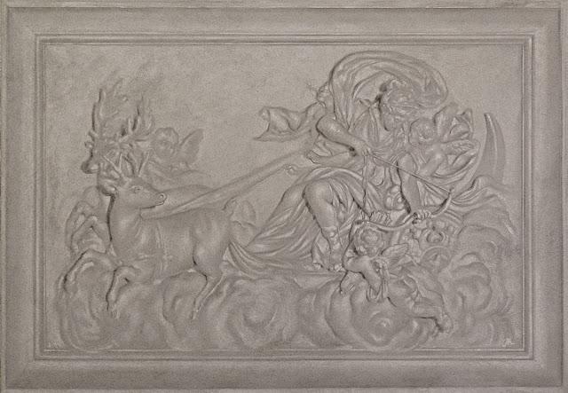 Surface fragments pascal amblard bas relief imité