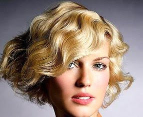 Bob Haircut with Waves