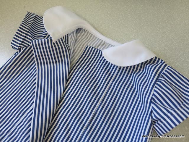 blusa marinera niño