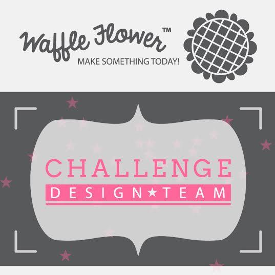 Waffle Flower Challenge DT