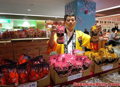 Welcome to Japan Fair, Iwate Food Fair, AEON Bandar Utama, bandar utama, shopping mall, japan food fair, mochi, kids bento, osechi, origami workshop