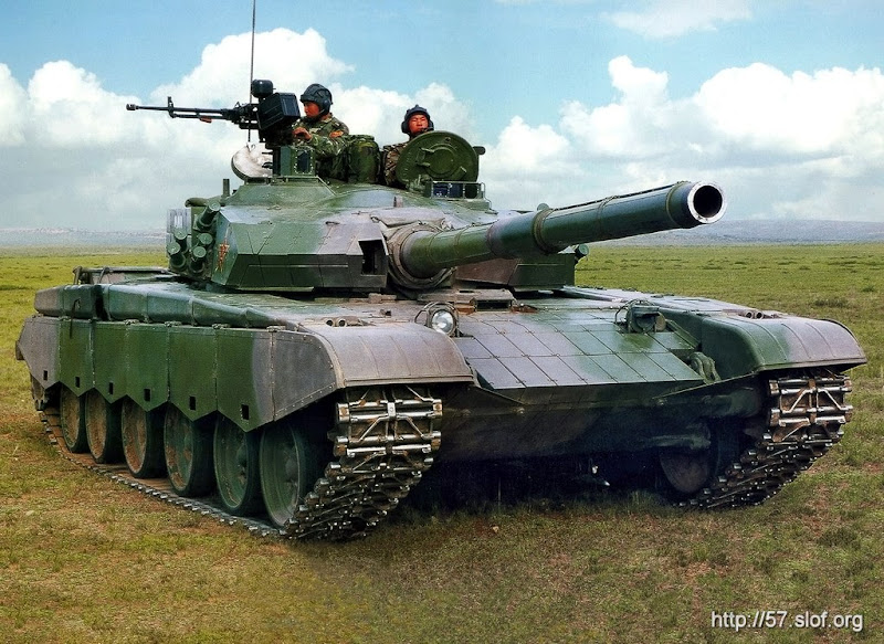 ZTZ99 PLA Advanced Main Battle Tank