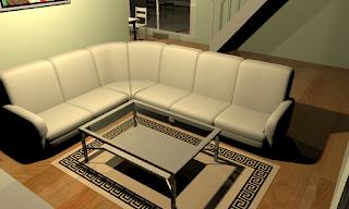 Living Room Sweet Home 3D