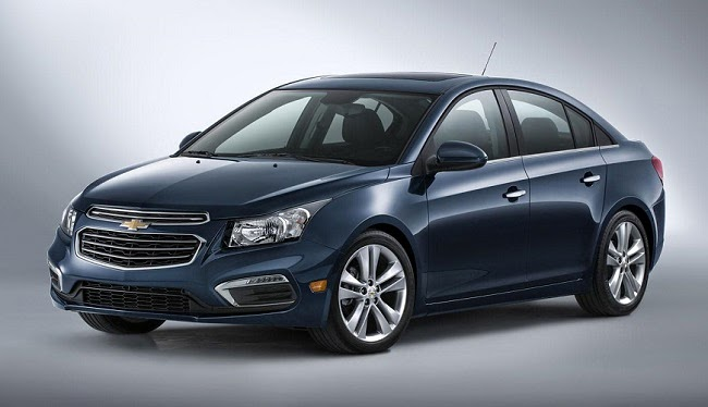 2015 Chevrolet Cruze will go on sale this fall