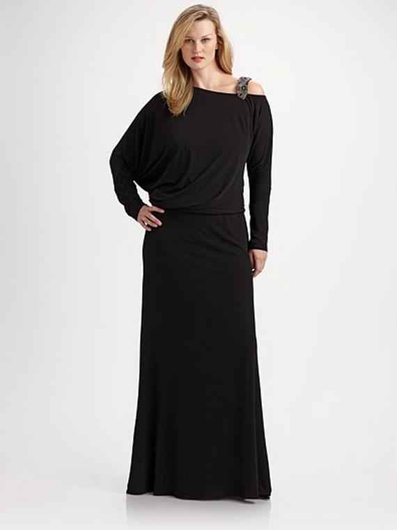 Красиво выглядит на полной девушке длинное двухслойное платье из шелка. платье для полных женщин