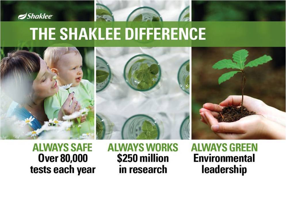 Shaklee ~ Safe ~ Works ~ Green