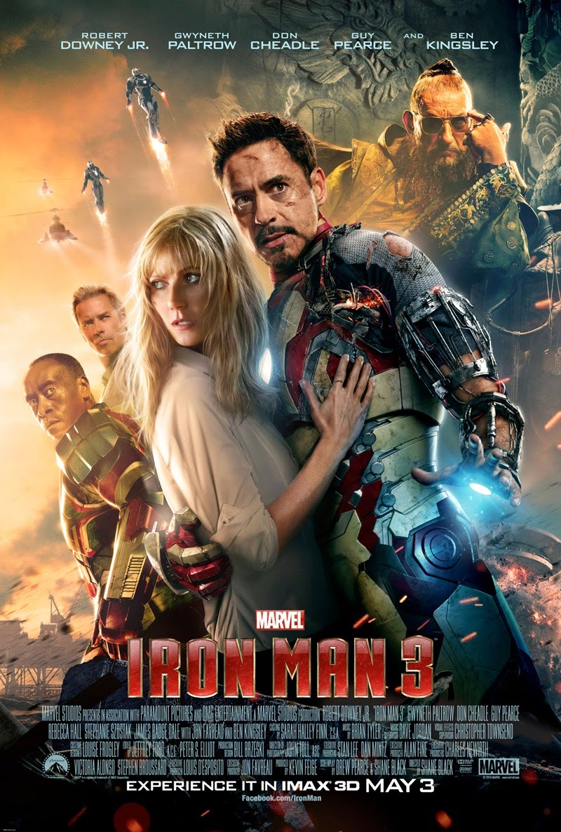 Demir Adam 3 - Iron Man 3 (2013) Film indir