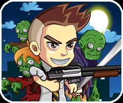 Đối mặt với zombie, game ban sung