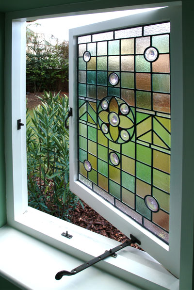 Gypsy river for Coloured glass panels