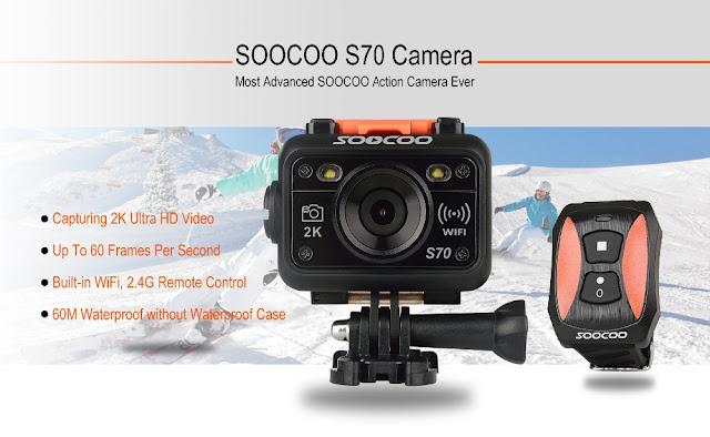 SOOCOO Sports Action Camera Wholesale: SOOCOO S70 Sports Aaction ...