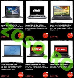 Oferta Emag Black Friday laptop-uri 20 noiembrie 2015
