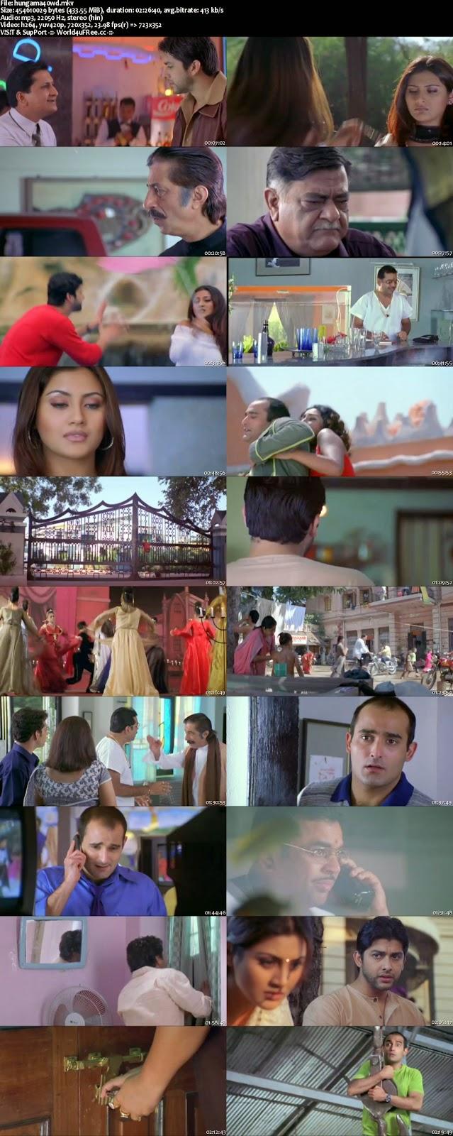 Hungama 2003 Hindi Movie Download. World4ufree.Org