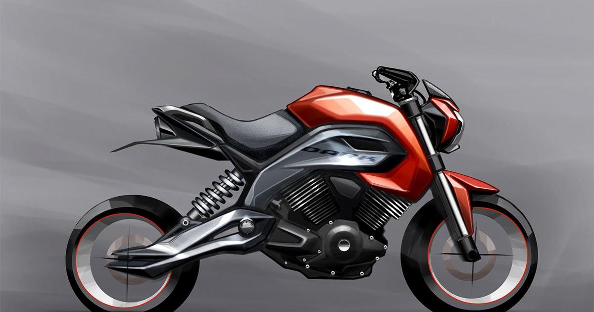 I Draw Motorbikes Motorbike Sketch Concept Render