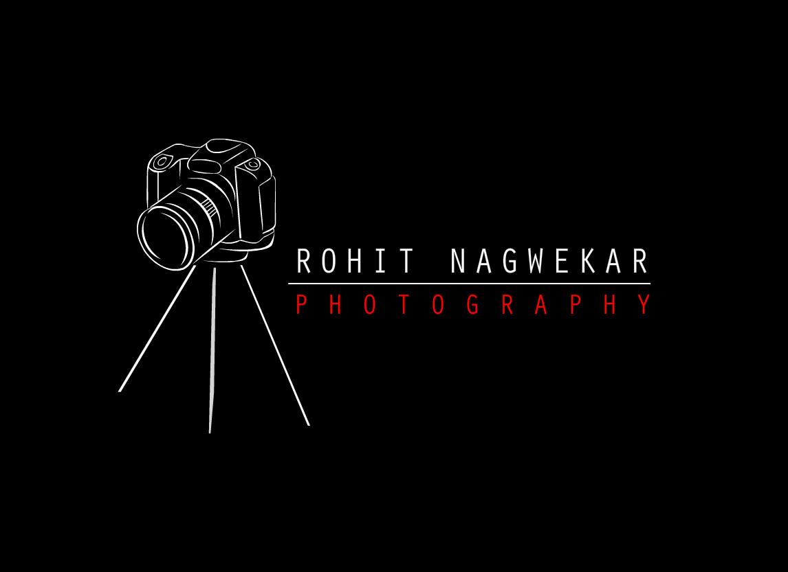 sneha: Rohit Nagwekar Photography Logo symbol Design
