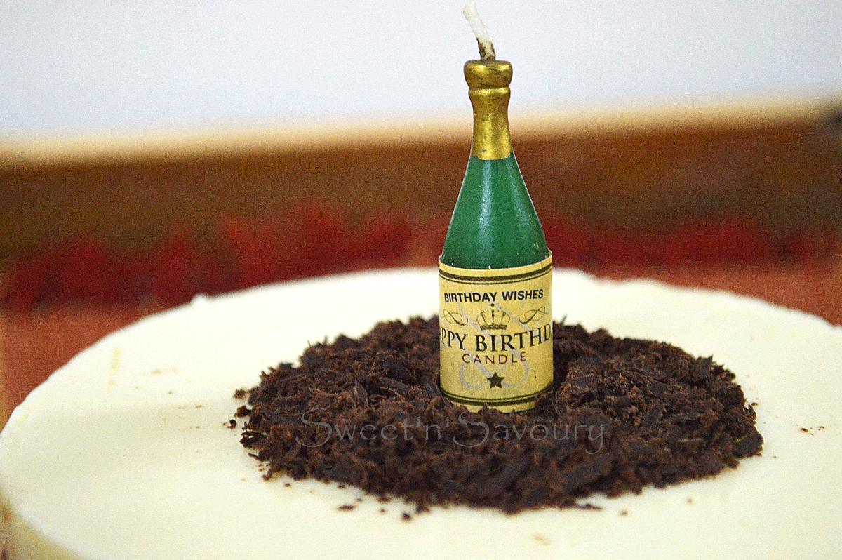 Birthday Cake Image Vishal : Sweet  n  Savoury: Triple layer Chocolate Cake-for Vishal ...