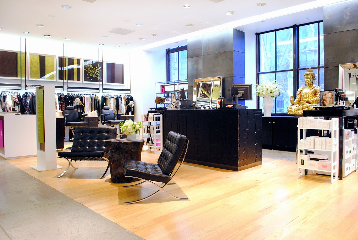 fashionably petite: Beauty on 5 Launch at Saks Fifth Avenue