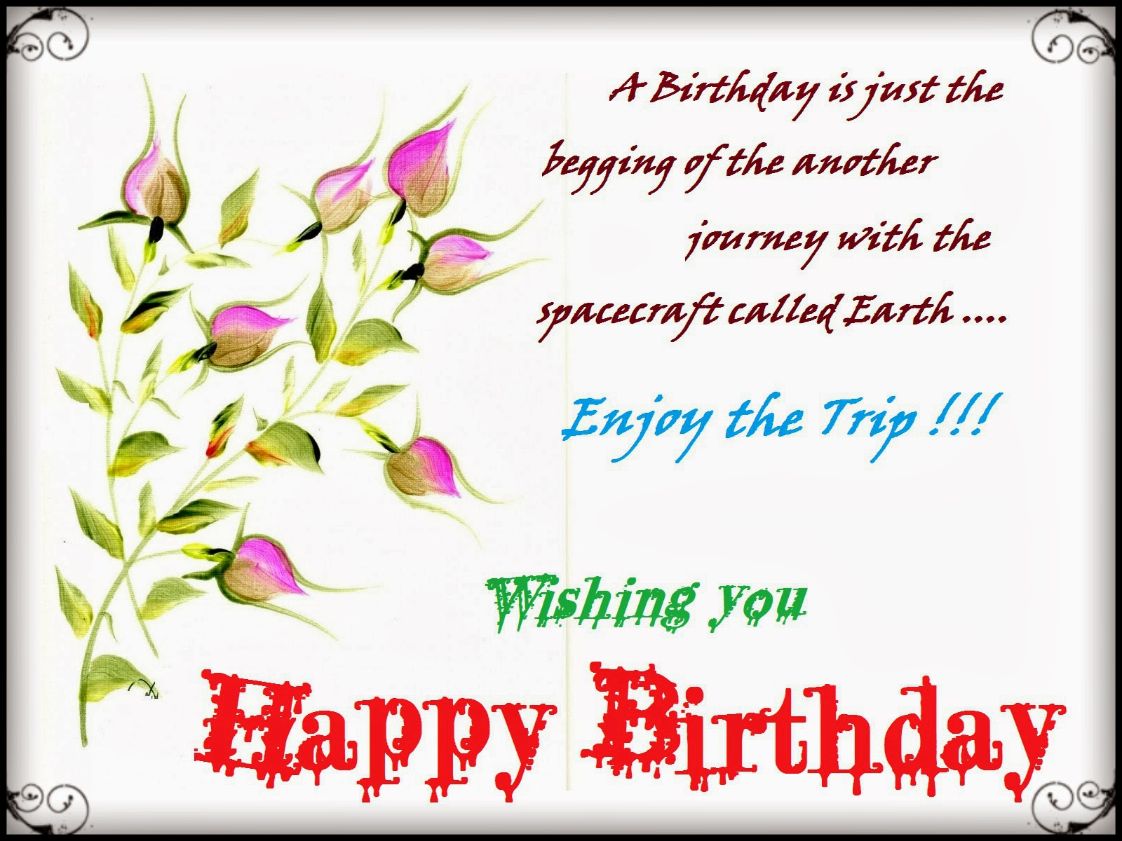 Happy New Year Wallpapers 2016 Birthday Messages