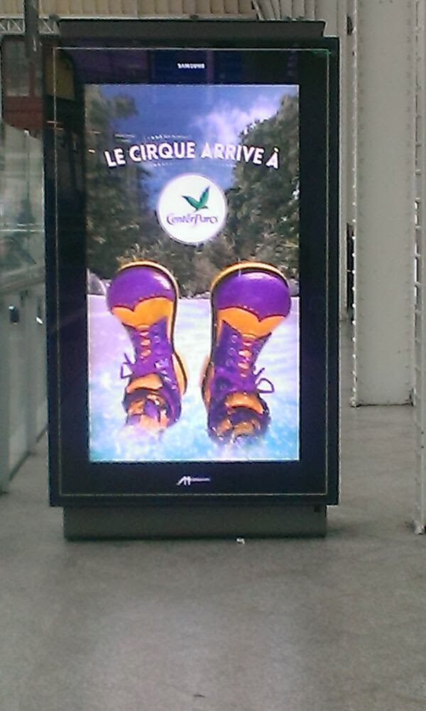 le cirque arrive a center parcs