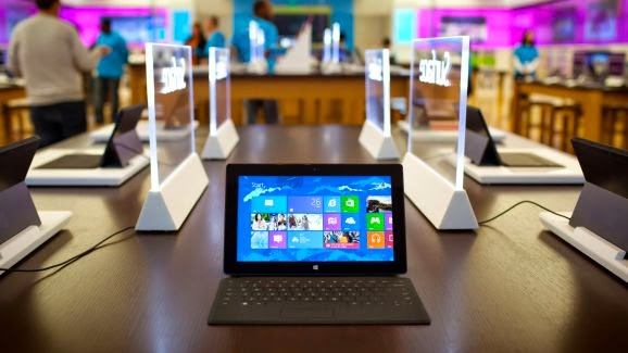 Surface Mini Windows tablet