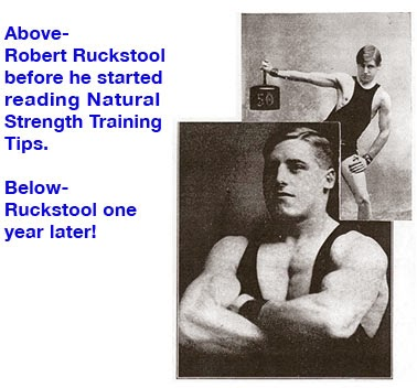 Have all new posts emailed to you - Sign-up for Natural Strength Training Tips
