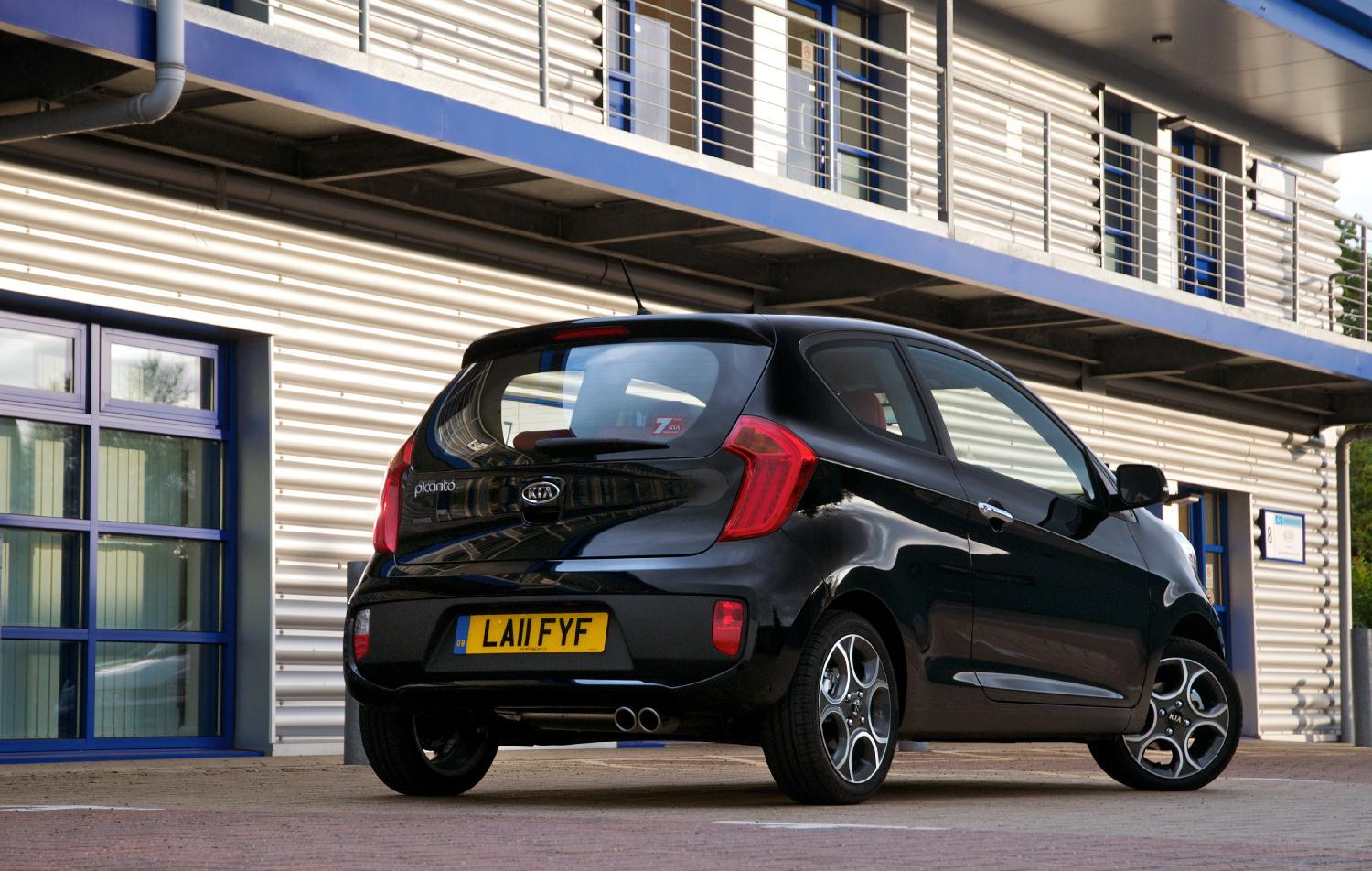 Photo Gallery: 2012 Kia Picanto 3dr