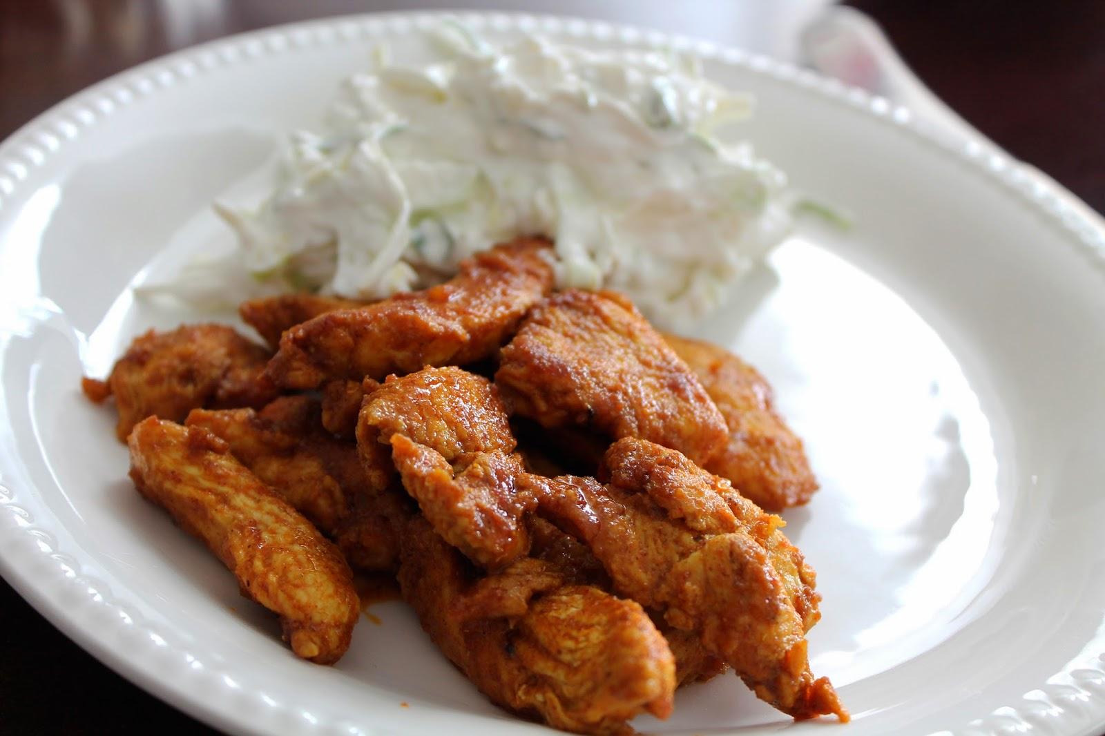 kylling marineret i græsk yoghurt