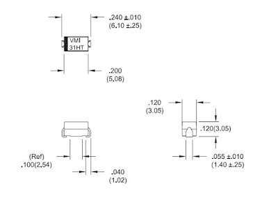 SMF6531HT Physical Dimensions