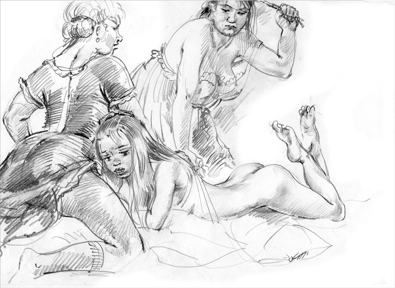 Porn girls art photo with pencil nude movie