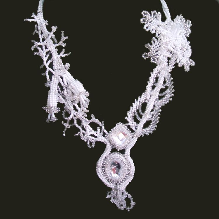 ожерелье из бисера быстро и красиво