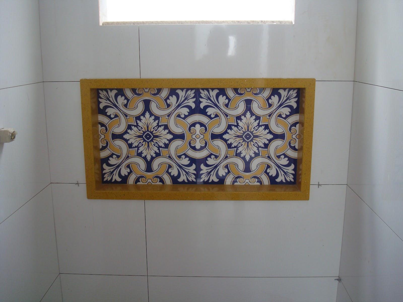 Construindo um Castelinho: Banheiro da Churrasqueira #67481D 1600x1200 Azulejo Fosco Banheiro