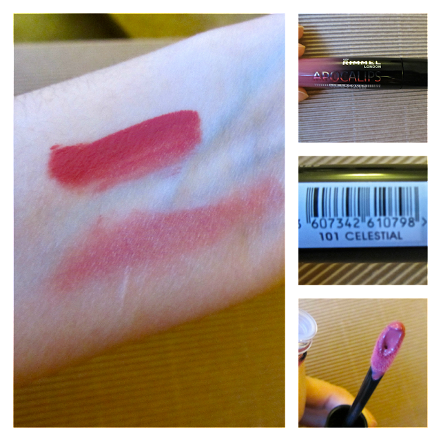 A picture of Rimmel London's Apocalips lip gloss in celestial
