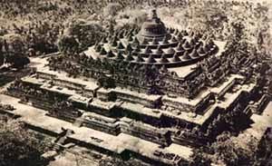 Unik. Foto dan Sejarah Borobudur Tempo Dulu