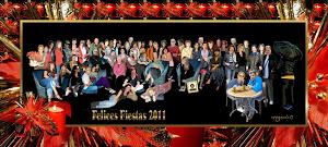 tarjeta navideña jueveros2011