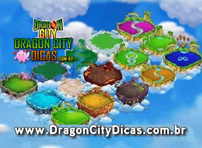 Novas Ilhas em breve no Dragon City!