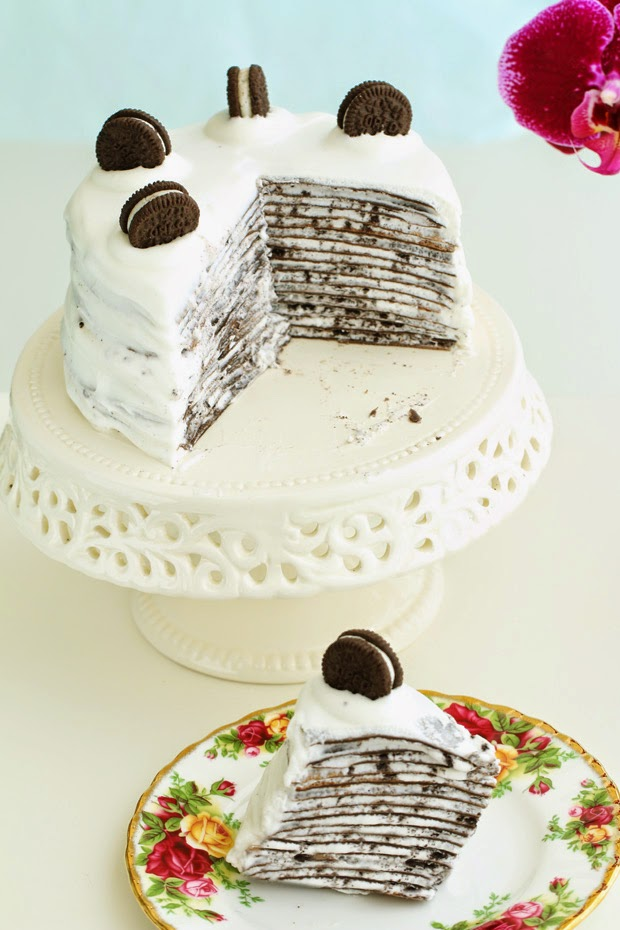 Eugenie Kitchen, oreo crepe cake