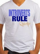 Just for fun: Introverts rule T-shirt