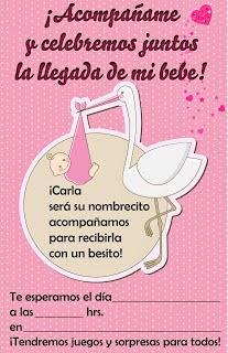 Fotografía Y Diseños Invitaciones Para Baby Shower Para Niña Y Niño